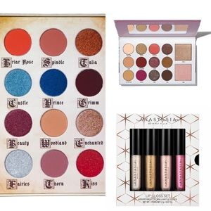 Eyeshadow/ lipgloss bundle!